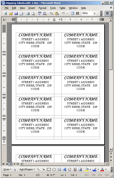 printing address labels word ask ben printing shipping labels with coldfusion