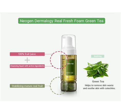 Real Fresh Foam Blueberry neogen real fresh foam cleanser 160g green tea more uk seller ebay