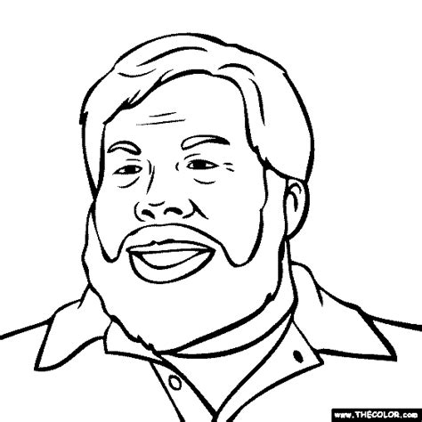 steve jobs coloring pages alfa img showing sketch coloring page