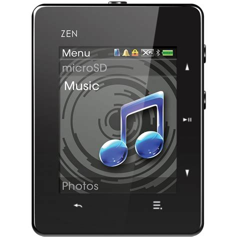 creative labs 16gb zen x fi3 player with 2 quot 70pf257200191