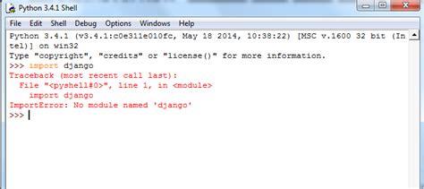 django tutorial no module named apps python importerror no module named django in windows 7