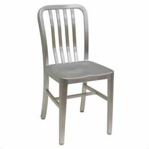 ats slat back brushed aluminum chair 57