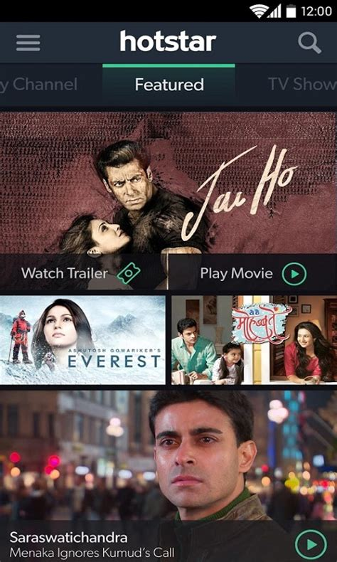 hotstar tv hotstar download for free live tv movies and sports app