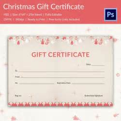 free printable gift certificate template gift certificate templates 21 psd format