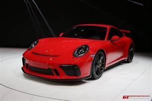 Porsche Gt 3 Geneva 2017 Porsche 911 Gt3 Type 991 2 Gtspirit