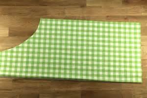 tuto un tablier de cuisine en tissu