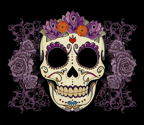 sugar skull future inspirations on watercolor tattoos sugar skull and
