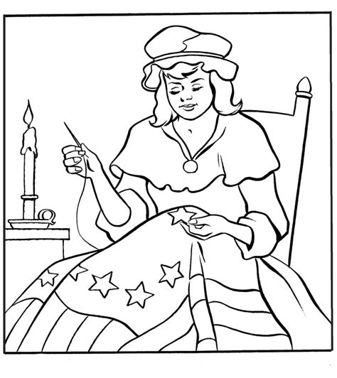 paul revere coloring page az coloring pages