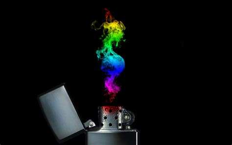 Zippo Original Zippo And Flames 3273 rainbow zippo by andrewdile on deviantart