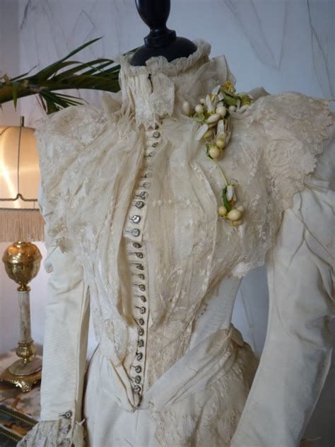 Antique Wedding Gown by Unique Wedding Gown Newport Ca 1895 Www Antique Gown