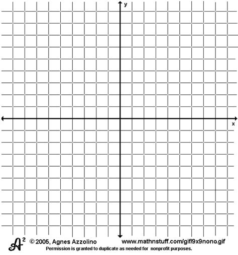 8 coordinate graph paper sales report template