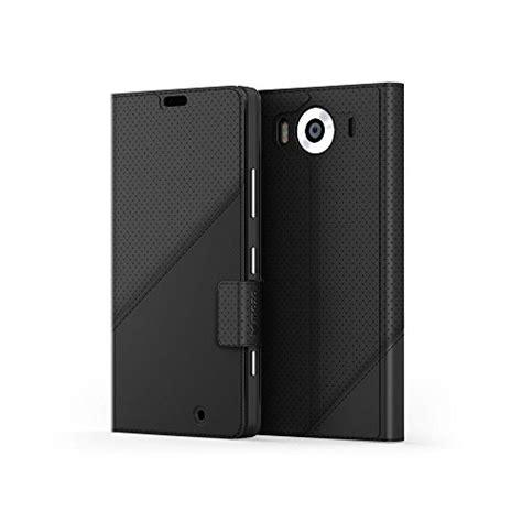 mozo thin flip case for microsoft lumia 950 mozo leather thin flip cover for microsoft lumia 950