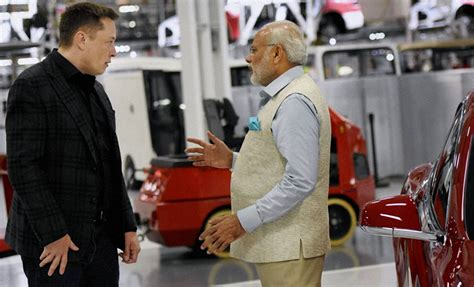 elon musk india indian pm narendra modi promotes digital india in