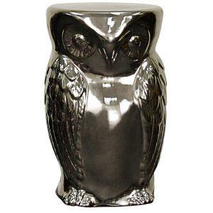 pacific direct  owl garden stool hayneedle