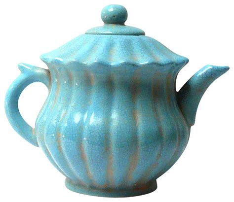 Modern Shelves For Living Room by Chinese Blue Crackle Ceramic Teapot Contemporary