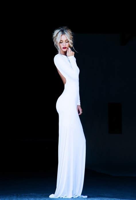 Bun Bun Dress by Bun Dress Fashion Figure Hair Model Pretty Sleek