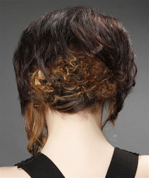 hair stacked straight front curly back pics of bab curly in back straight in front updo