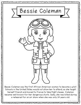 coloring pages for women s history month women in history biography coloring page crafts women s