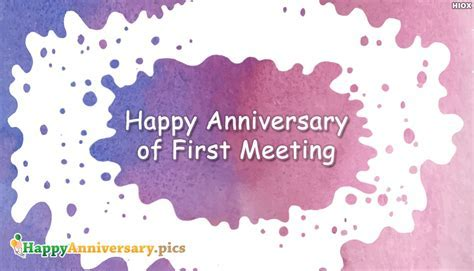 Happy Anniversary Of First Meeting @ Happyanniversary.Pics