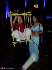gorilla man   cage diy halloween costume photo