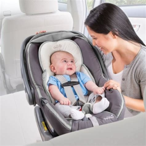 preemie car seat support summer infant snuzzler infant support for car seats and