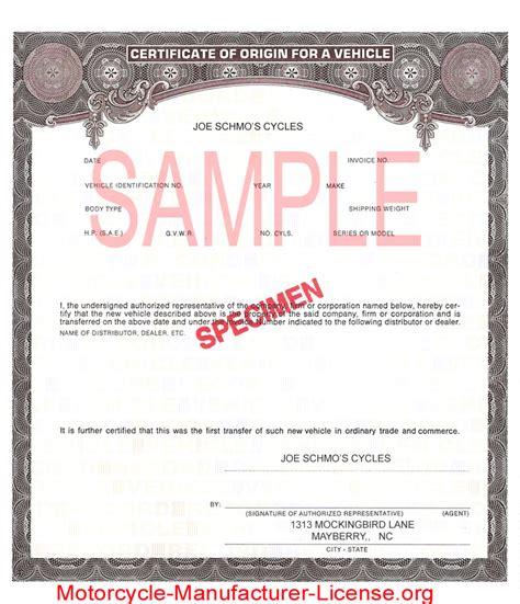 manufacturer certificate of origin template manufacturer certificate of origin template car interior