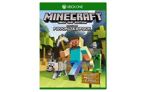 Xbox One Minecraft minecraft xbox one edition