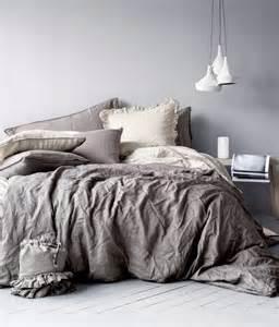 Dark Grey Linen Duvet Cover Inspiration Till Sovrummet Diy Mormorsglamour