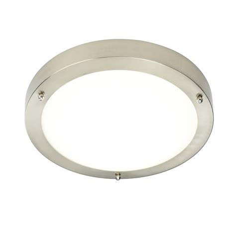 satin nickel bathroom lights portico satin nickel ip44 cool white led bathroom light