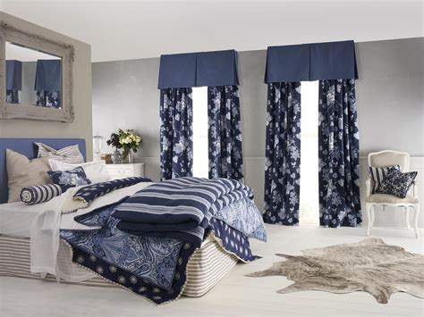 Bathroom Valances Ideas nice master bedroom decors with blue accent modern drapes