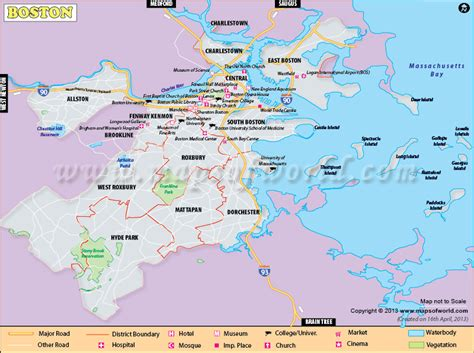 usa map with states and cities boston boston city map map of boston city ma capital of