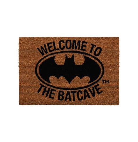 felpudo batman compra felpudo batman welcome to the batcave original