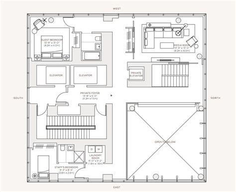 Circular Floor Plans by Dise 241 O De Apartamento De Lujo Con Decoraci 243 N Y Planos