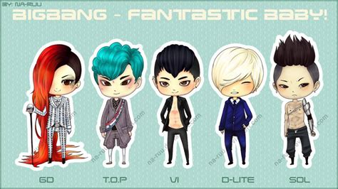 G Anime Names by Bigbang Fantastic Baby Baby Version