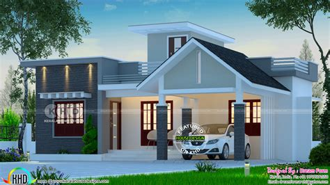 budget home design 2140 sq ft kerala home design and 2 bedroom low budget house 1013 square feet kerala home