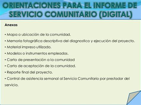 Carta De Culminacion De Servicio Comunitario presentaci 243 n jornada de induci 243 n al servicio comunitario t 233 cnica upel