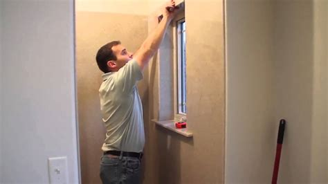 How To Replace Bathroom Window by Onyx Shower Installation Window Sill And Casing Trim