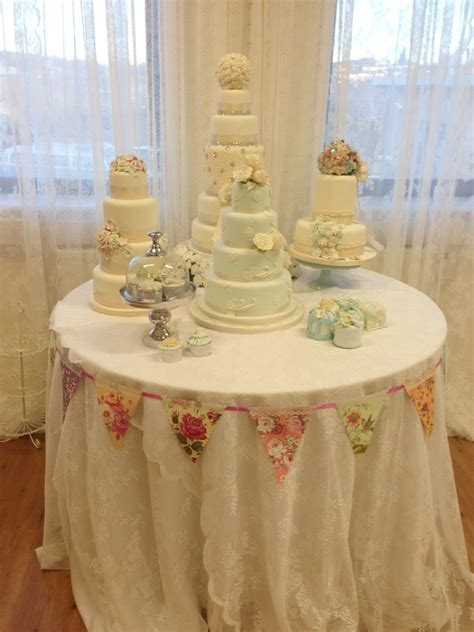 wedding cake table display april delights nottingham wedding table fondant work cake