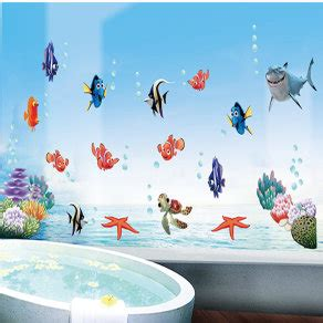 dory boat decals finding dory nemo wall stickers mural decal for sale in