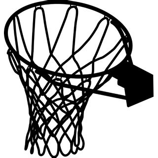 basketball net clipart netball ring clipart clipground