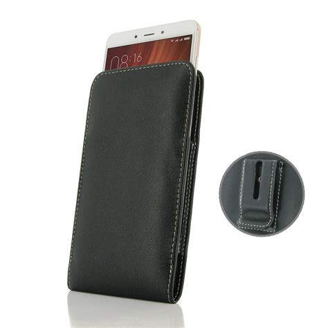 Leather Goods Pouch Premium For Xiaomi Redmi Note Gold xiaomi redmi note 4 pouch with belt clip pdair
