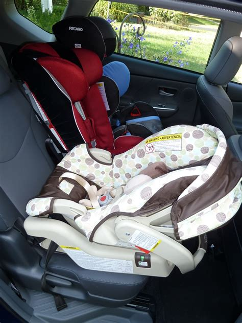 Toyota Highlander Three Car Seats Carseatblog The Most Trusted Source For Car Seat Reviews