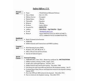 safety manager resume and cover letter writing guides - Safety Manager Resume