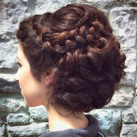 evening hairstyles for thick hair 40 most delightful prom updos for long hair in 2018 prom