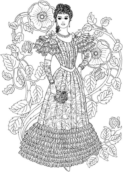 coloring books for adults trend welcome to dover publications creative nouveau