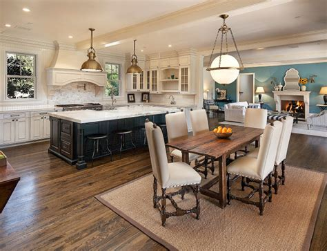 kitchen and dining room lighting ideas east coast style shingle home for sale home bunch
