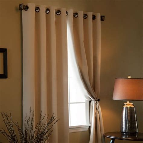 solid thermal insulated blackout curtain solid grommet top thermal insulated blackout curtain will