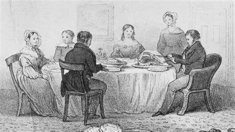 History Of Dining Room Etiquette No Place For Discontent A History Of The Family Dinner