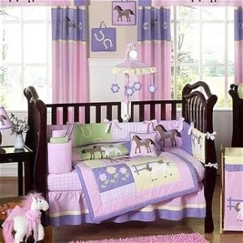horse crib bedding amazon com pretty pony horse baby bedding 9 pc crib