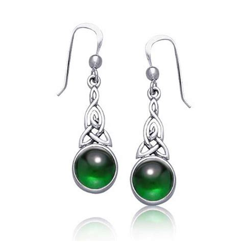 how to make celtic jewelry celtic knots dangle earrings sterling silver